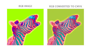When We Receive RGB Images Convert Them To CMYK For Our Use Please Be Aware That Color Shifts May Occur